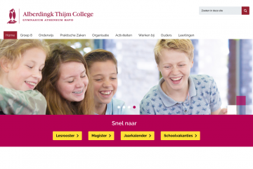website Alberdingk thijm college